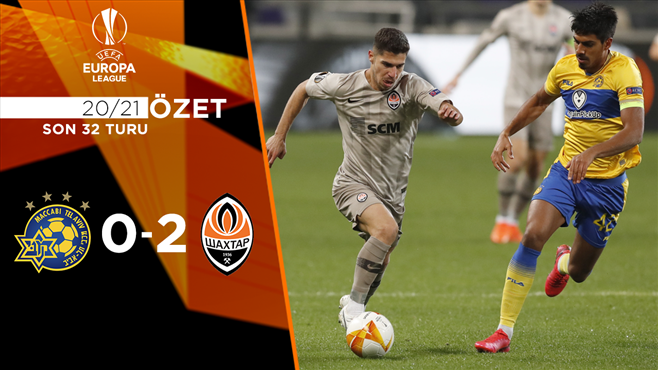 ÖZET | Maccabi Tel Aviv 0-2 Shakhtar Donetsk