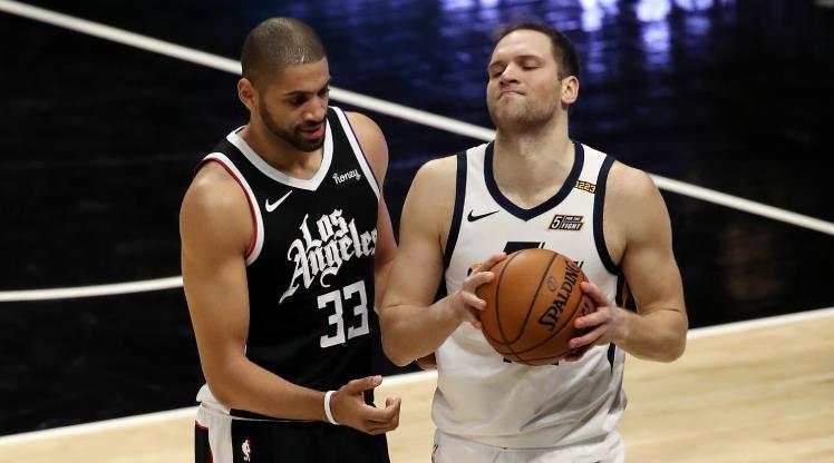 Jazz'ın müthiş serisini Clippers bitirdi