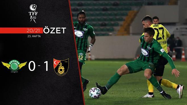 ÖZET   Akhisarspor 0-1 İstanbulspor