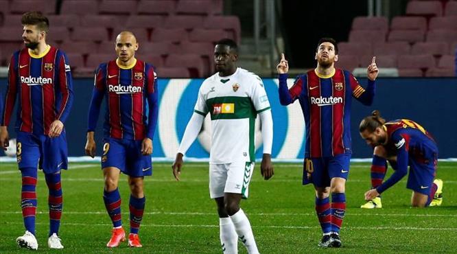 Barcelona farklı kazandı