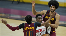 Cleveland, Houston engelini aştı