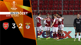 ÖZET   Arsenal 3-2 Benfica