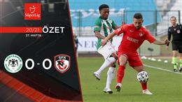 ÖZET   İH Konyaspor 0-0 Gaziantep FK