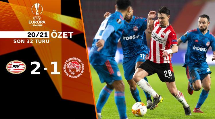 ÖZET | PSV Eindhoven 2-1 Olympiakos