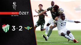 ÖZET | Bursaspor 3-2 Akhisarspor