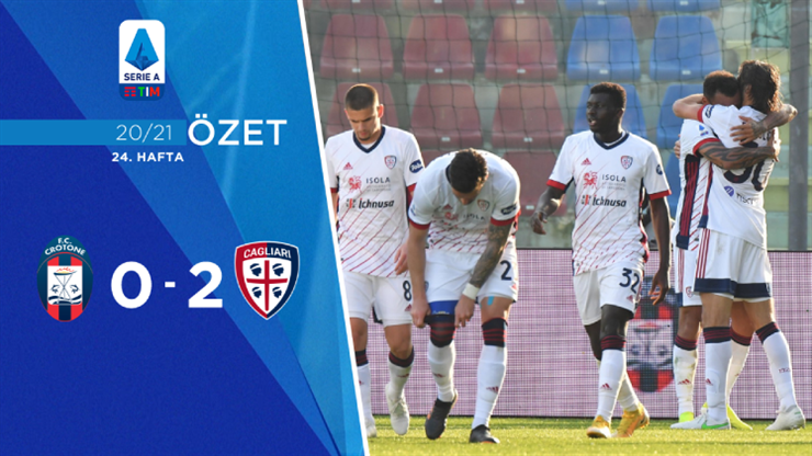 ÖZET | Crotone 0-2 Cagliari