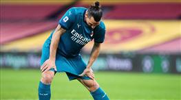 Ibrahimovic, United maçını kaçıracak