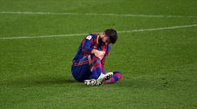 Barcelona'ya Pique'den kötü haber