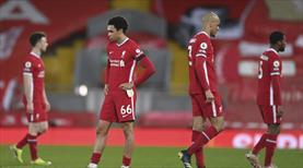 Liverpool yine kayıplarda