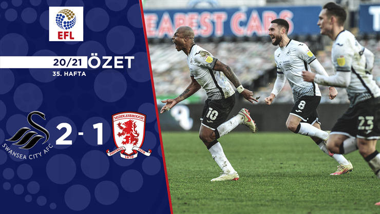 ÖZET | Swansea City 2-1 Middlesbrough