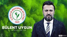 Çaykur Rizespor, Bülent Uygun'u resmen açıkladı
