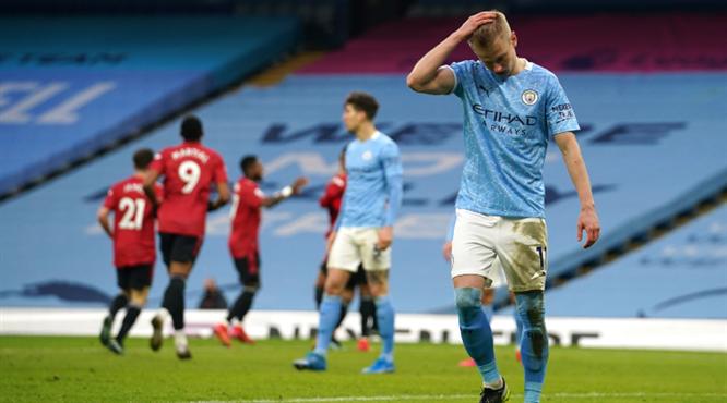City'nin serisini United bitirdi
