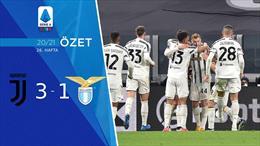 ÖZET   Juventus 3-1 Lazio