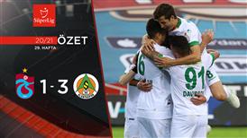 ÖZET | Trabzonspor 1-3 A. Alanyaspor