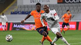 Beşiktaş ve Başakşehir final için sahada