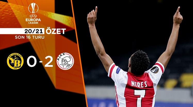 ÖZET | Young Boys 0-2 Ajax