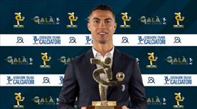 İtalya'da geçen sezonun en iyisi Ronaldo