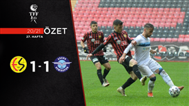 ÖZET   Eskişehirspor 1-1 Adana Demirspor