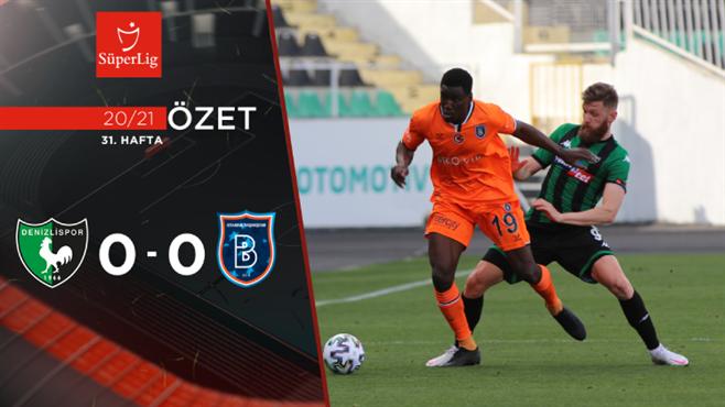 ÖZET | Y. Denizlispor 0-0 M. Başakşehir