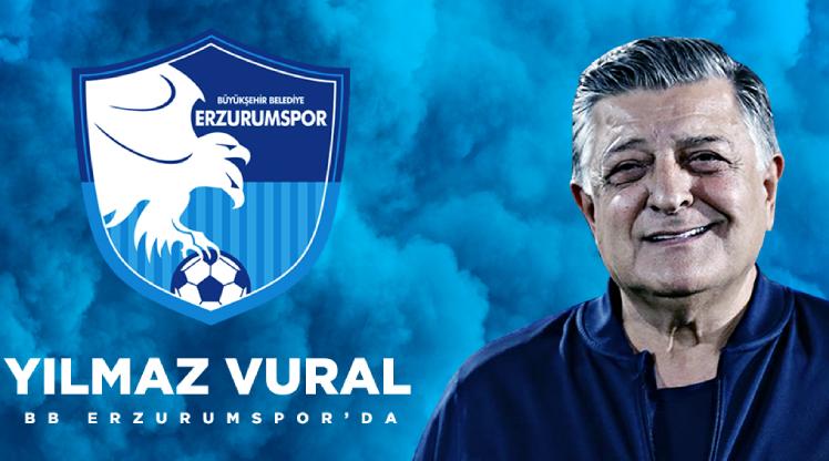 BB Erzurumspor, Yılmaz Vural'ı açıkladı