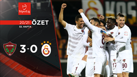 ÖZET | Atakaş Hatayspor 3-0 Galatasaray