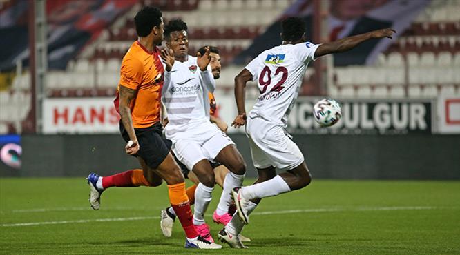 A.Hatayspor - Galatasaray maçının ardından