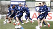 Fenerbahçe'de Gökhan Gönül takımla çalıştı