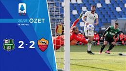 ÖZET   Sassuolo 2-2 Roma