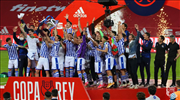 Kral Kupası'nda zafer Real Sociedad'ın