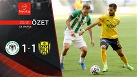 ÖZET | İH Konyaspor 1-1 MKE Ankaragücü