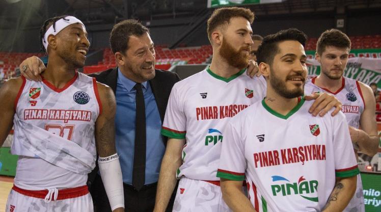 Pınar Karşıyaka play-off'a ev sahipliği yapmak istiyor