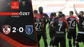 ÖZET | Gaziantep FK 2-0 M. Başakşehir