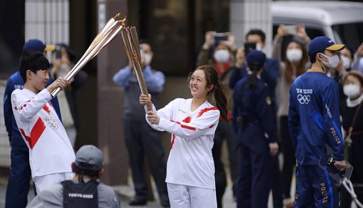 Tokyo Olimpiyatları meşale turuna Covid-19 engeli