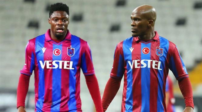 Trabzonspor'dan Nwakaeme ve Ekuban açıklaması