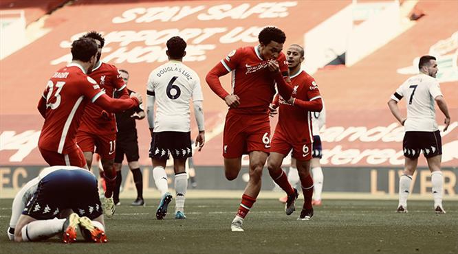 Liverpool, Aston Villa'yı 90'da tuş etti