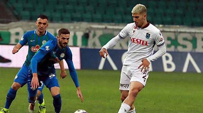 Trabzonspor'da gol sorunu çözülemiyor