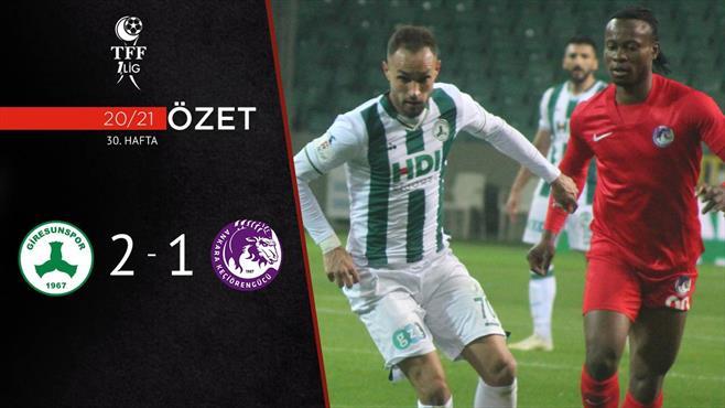 ÖZET | GZT Giresunspor 2-1 A.Keçiörengücü