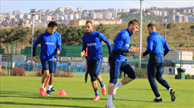 Trabzonspor pas çalıştı