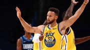 Curry rekor kırdı, Warriors rahat kazandı