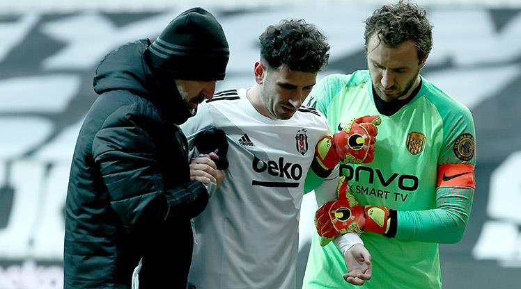 Beşiktaş'ta Oğuzhan üç hafta yok