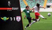 ÖZET   Akhisarspor 1-1 Altınordu