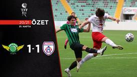 ÖZET | Akhisarspor 1-1 Altınordu