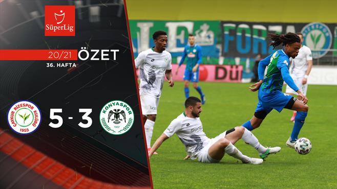 ÖZET | Çaykur Rizespor 5-3 İH Konyaspor