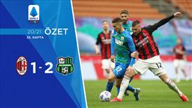 ÖZET   Milan 1-2 Sassuolo