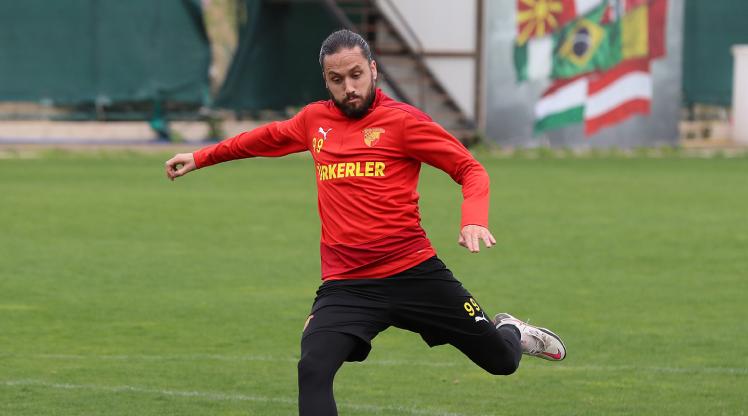 Göztepe'de Trabzonspor mesaisi başladı