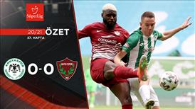 ÖZET | İ.H. Konyaspor 0-0 A. Hatayspor