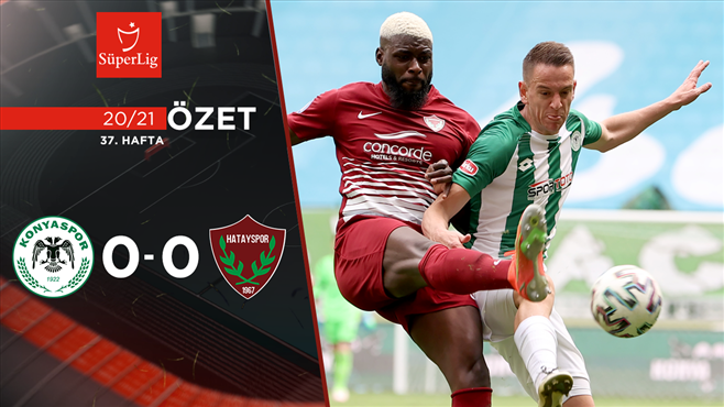 ÖZET   İ.H. Konyaspor 0-0 A. Hatayspor