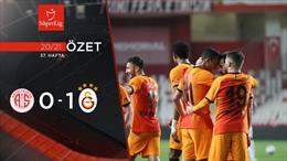ÖZET   FTA Antalyaspor 0-1 Galatasaray
