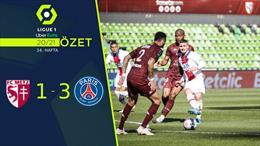 ÖZET   Metz 1-3 PSG