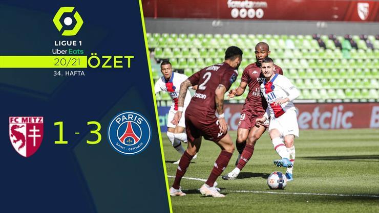 ÖZET | Metz 1-3 PSG